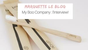 Interview des créateurs de my boo company les brosses à dents en bambou pour une salle de bain sans plastique zéro déchet