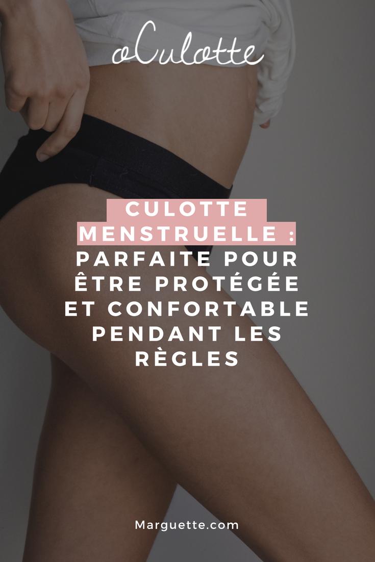 oculotte , une culotte menstruelle : parfaite pour être protégée et confortable pendant les règles