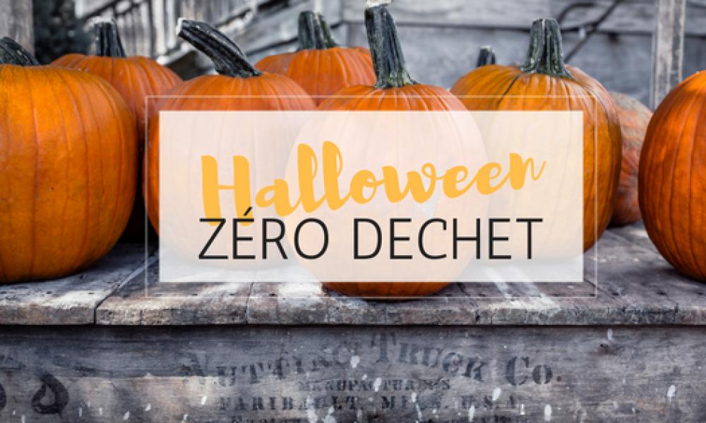 le zéro déchet mis en pratique pour halloween : maquillage, déguisement, décoration, gourmandise